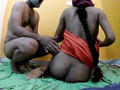 Desi aunty fucking with lover when husband not home